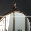 Gương inox tròn