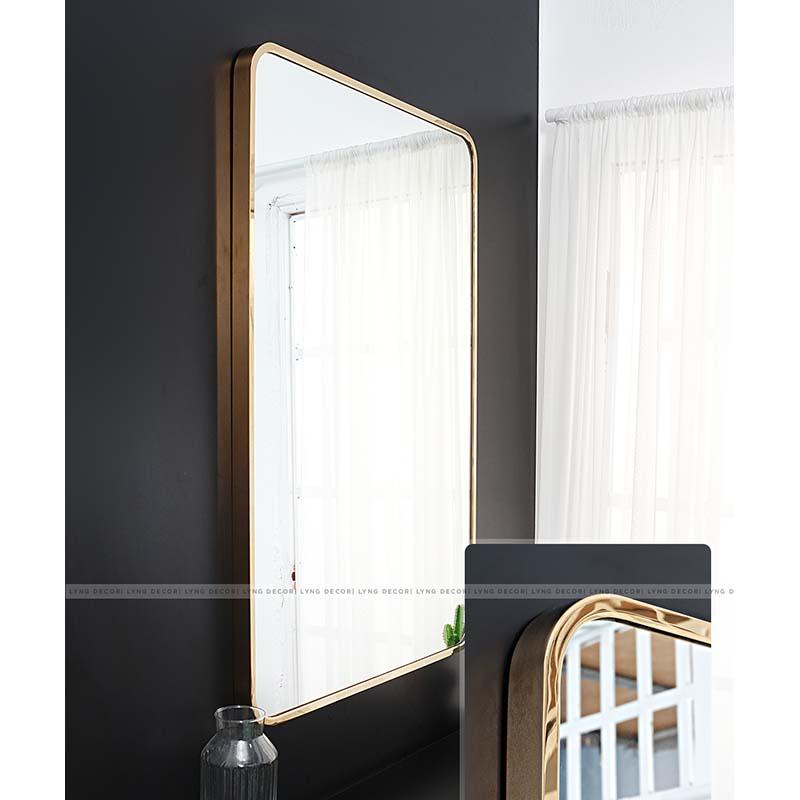 Gương inox - chữ nhật