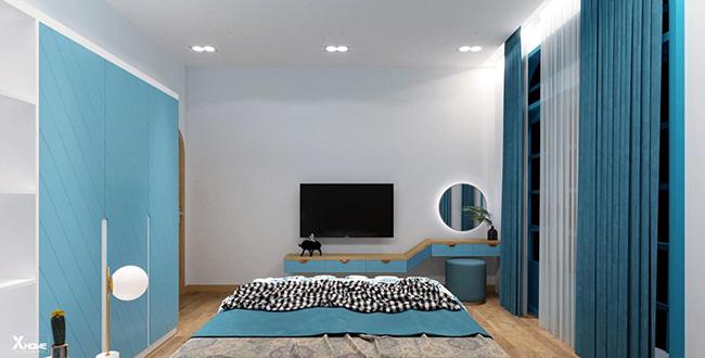 Cách chọn lựa và bố trí gương phòng ngủ hợp phong thủy đẹp không gian