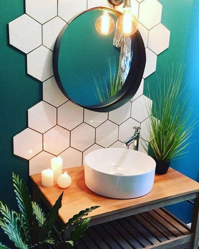 Những loại khung viền gương tròn đẹp cho không gian tối giản